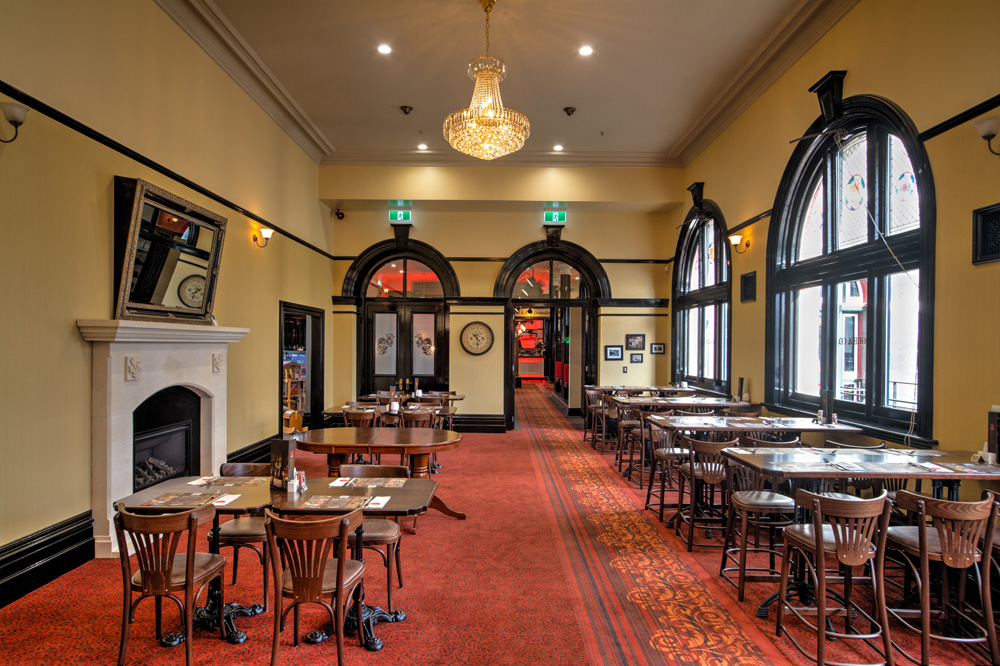 Dunedin Function Room - The long room, perfect for large groups